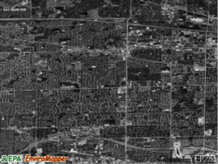 Aerial view of Schaumburg today (source: USGS satellite image)