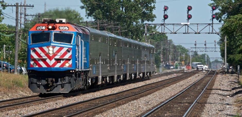 Downers Grove IL / Washington StMETX w/b commuter expressMETX 205F40PHM-2