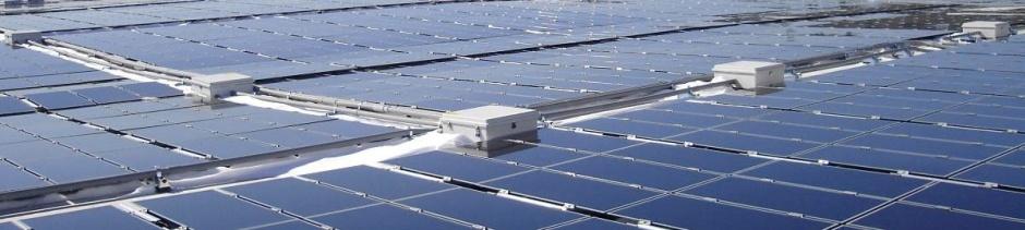 solar panels banner