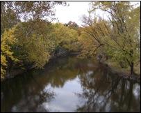 The Kishwaukee River within the Blackhawk Spring Forest Preserve (photo: Dan Carter)
