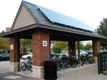 Kellogg - bike shelter