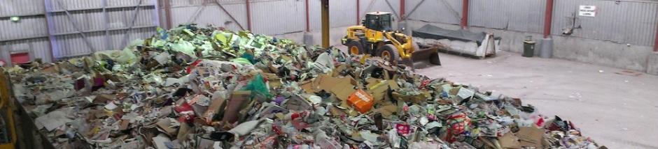 Recycling transfer station