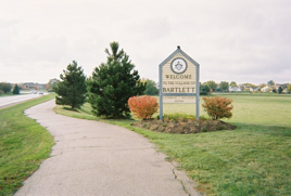 Entrance to Bartlett IL