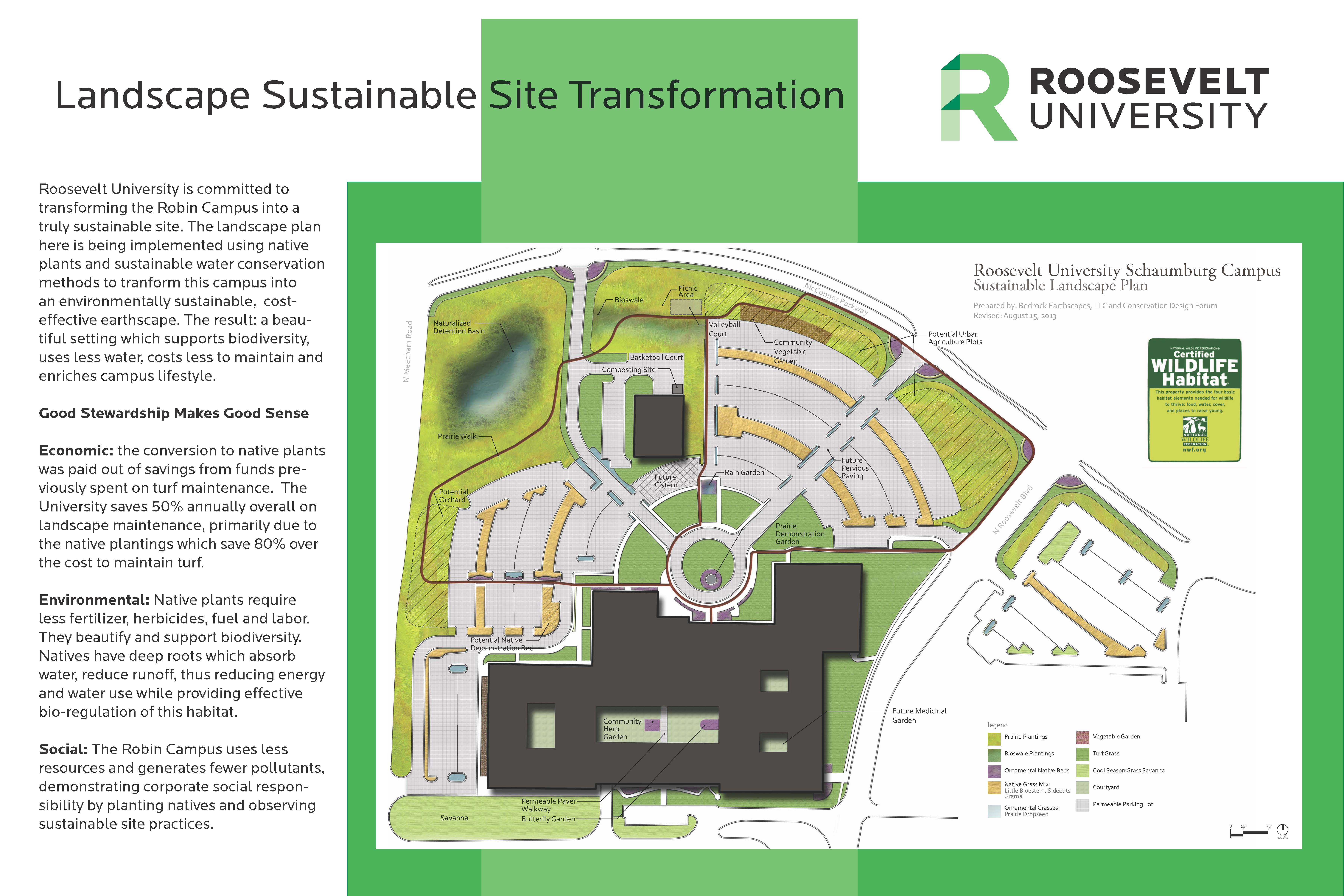 Roosevelt University Campus Map.Earth Week Events At Ru S Schaumburg Campus Sustainability Studies
