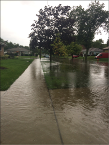 Flooding in Des Plaines IL (S. Soltys)